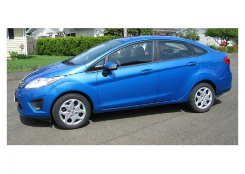 2013 FORD FIESTA 4 DOOR 5 PASSENGER FOR SALE $4900